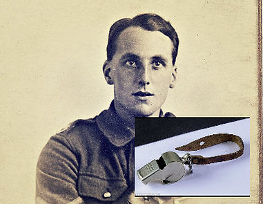 Joseph Clucas and Whistle –Western Front Witness –Latest WW1 News –WW1 Stories -Centenary WW1
