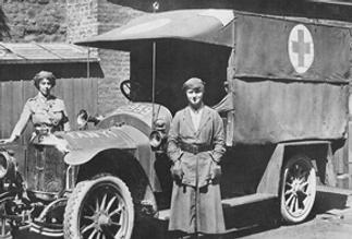 FANY WW1 Nurses–Western Front Witness–Women in WW1-WW1 Nurses-VADs-First Aid Nursing Yeomanry