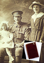 Private Bush and Bible–Western Front Witness– WW1 PoW-Great Escapes-PoW Stories-Soldier Refugees