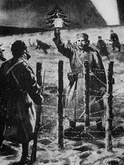 Christmas Truce 1914–Western Front Witness– The Christmas Truce 1914- Christmas Day Truce WW1
