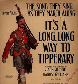 Music of WW1 Tipperary–Western Front Witness– WW1 Explored-WW1 Stories-Interesting Facts About WW1
