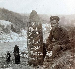 German Shells WW1–Western Front Witness– Weaponry in WW1-WW1 Tactics-WW1 artillery-WW1 Snipers