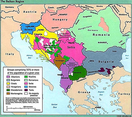 Map of the Balkans –Western Front Witness –Causes of WW1 –Why Did WW1 Start?- Outbreak of WW1