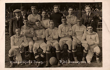 Huddersfield Team 1914–Western Front Witness– WW1 Sporting Contributions-Football Remembers