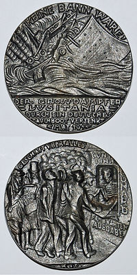 German Commemorative Medal- Western Front Witness–Propaganda in WW1-Censorship in WW1-DORA WW1