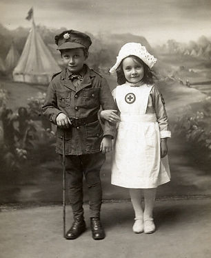 Children in WW1 Uniforms–Western Front Witness–Propaganda in WW1-Censorship in WW1-DORA WW1