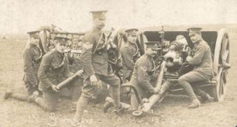 British Field Artillery Guns–Western Front Witness– Weaponry in WW1-WW1 Tactics-WW1 artillery-WW1 Snipers