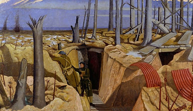 Artist Paul Nash –Western Front Witness –Latest WW1 News –WW1 Stories -Centenary WW1