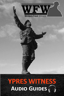 Ypres Witness Album Cover– Western Front Witness – WW1 Battlefields Audio Guide - WW1 sites to visit