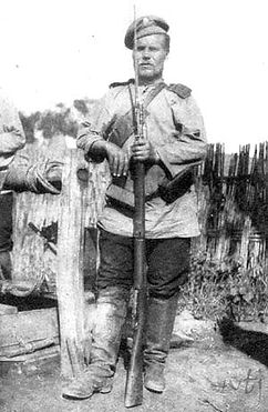 Russian Soldier WW1–Western Front Witness– Battle of the Marne September 1914– British Army WW1