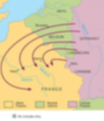 Map of Schlieffen Plan –Western Front Witness –July Crisis -Causes of WW1 –How Did WW1 Start?- Outbreak of WW1