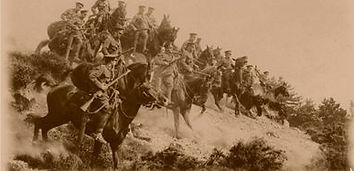 British Cavalry Race to the Sea–Western Front Witness– Race to the Sea Antwerp 1914– British Army WW1