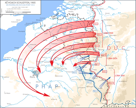 Schlieffen Plan 1905 –Western Front Witness –Causes of WW1 –Why Did WW1 Start?- Outbreak of WW1