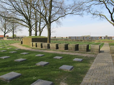 Langemarck Cemetery North of Ypres -Western Front Witness– First Battle of Ypres–Ypres WW1 1914