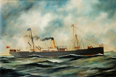 British Ship SS Cromer–Western Front Witness– WW1 PoW-Great Escapes-PoW Stories-Soldier Refugees