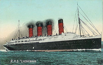 Lusitania Sets Sail- Western Front Witness–Propaganda in WW1-Censorship in WW1-DORA WW1