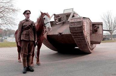 Mark 1 Tank Bovington –Western Front Witness –Latest WW1 News –WW1 Stories -Centenary WW1