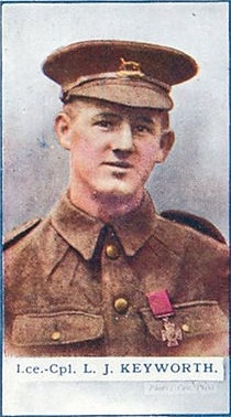 James Keyworth–Western Front Witness– WW1 VC Winners-Victoria Cross Recipients-VC Heroes-VC Recipients
