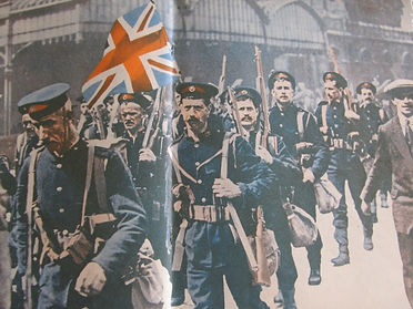 Soldier Sailors Head to Antwerp-Western Front Witness– Race to the Sea Antwerp 1914– British Army WW1