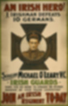 Irish Hero O'Leary–Western Front Witness– WW1 VC Winners-Victoria Cross Recipients-VC Heroes-VC Recipients