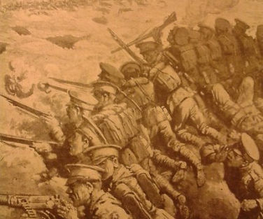 British Troops in Trenches North of Ypres -Western Front Witness– First Battle of Ypres–Ypres WW1 1914
