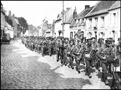 The BEF Arrives in France–Western Front Witness –Retreat from Mons August 1914 –Battle of Mons