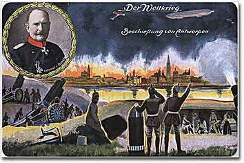 German View Siege of Antwerp-Western Front Witness– Race to the Sea Antwerp 1914– British Army WW1