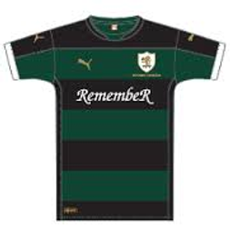 Raith Rovers Remember Shirt–Western Front Witness– WW1 Sporting Contributions-Football Remembers