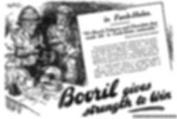 Bovril Gives Strength to Win–Western Front Witness–Propaganda in WW1-Censorship in WW1-DORA WW1