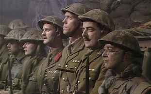 Blackadder Goes Forth –Western Front Witness– The Christmas Truce 1914- Christmas Day Truce WW1