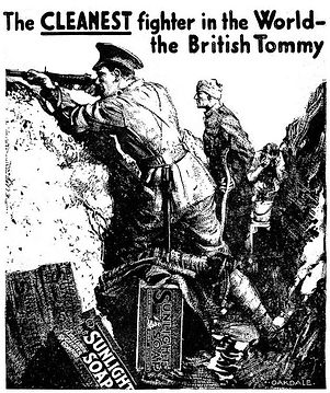 Sunlight Soap Advert–Western Front Witness–Propaganda in WW1-Censorship in WW1-DORA WW1