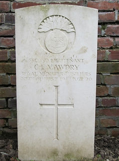 Wilfred Awdry Grave–Western Front Witness–Casualties of WW1-WW1 Heroes-British Casualties WW1