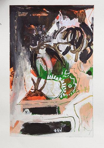 "Wendimagegn Belete, ""Untitled II"""