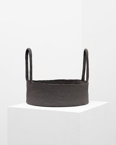 Sisse Lee, Black stoneware with Rabbit Handles, 2020