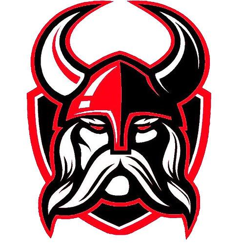 Viking Head Sticker