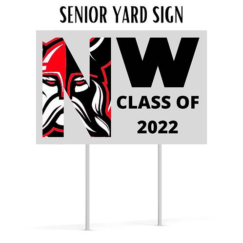 2022 Senior Yard Sign