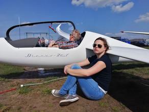 Herzlichen Glückwunsch EVA zum 400km Flug