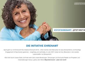 Initiative Ehrenamt 2021. Jetzt erst recht! - Zeitzeugen des Sports gesucht.