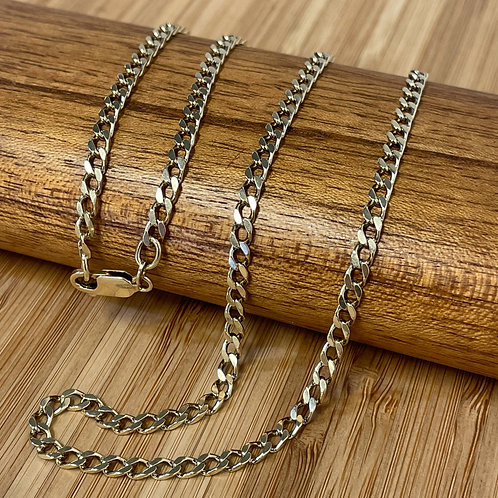 Gold Link Chain Made in Italy