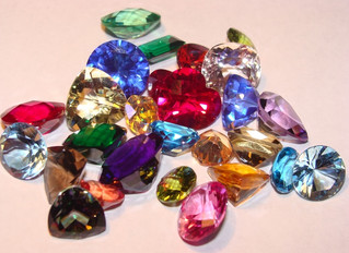 All these bright colorful gems!