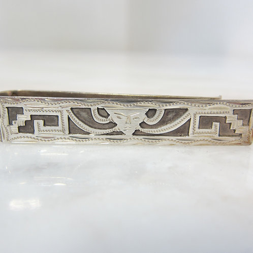 Vintage Silver Tie Clip for Ties