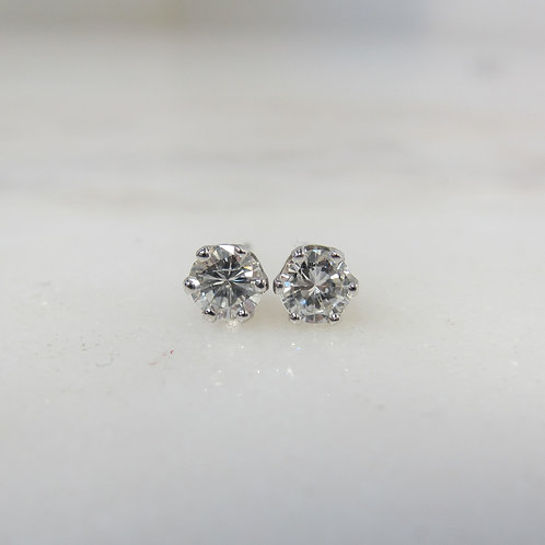 Diamond Stud Earrings 14k