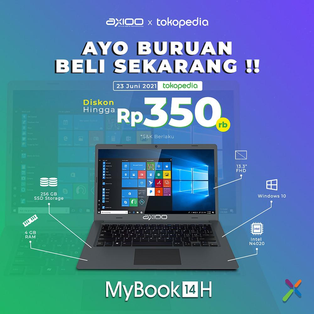 Exclusive Launching MyBook 14H di Tokopedia