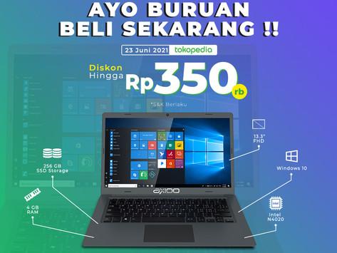 Bekerja Dimana Saja Dengan Laptop Axioo MyBook 14H!