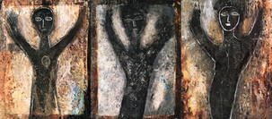 Shaman-Triptych (Cat.2156)