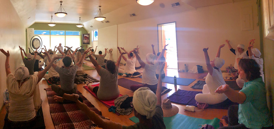 Kundalini Yoga Class at the Awareness Center in Pasadena, CA