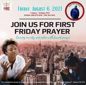Monthly 1st Friday Prayer
