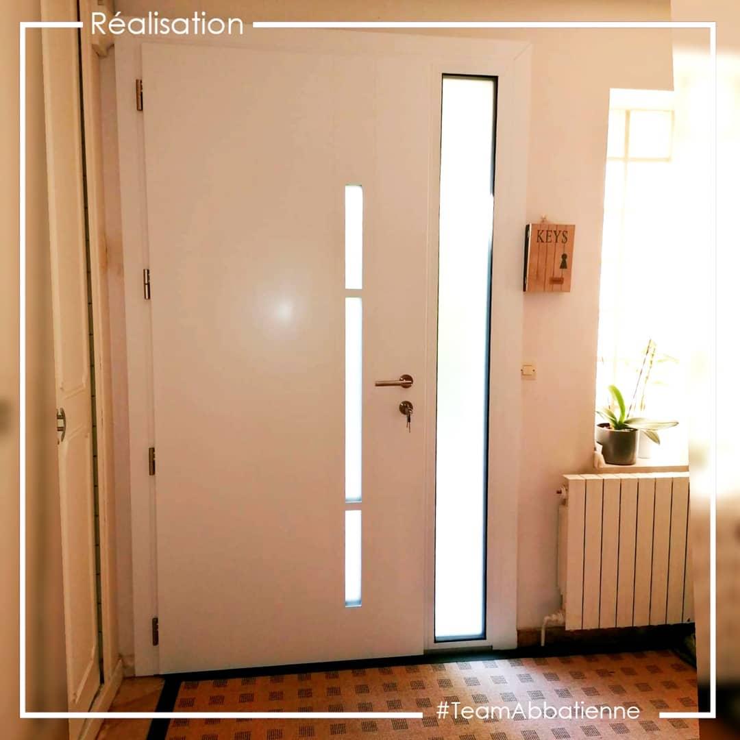 Porte d'entrée aluminium