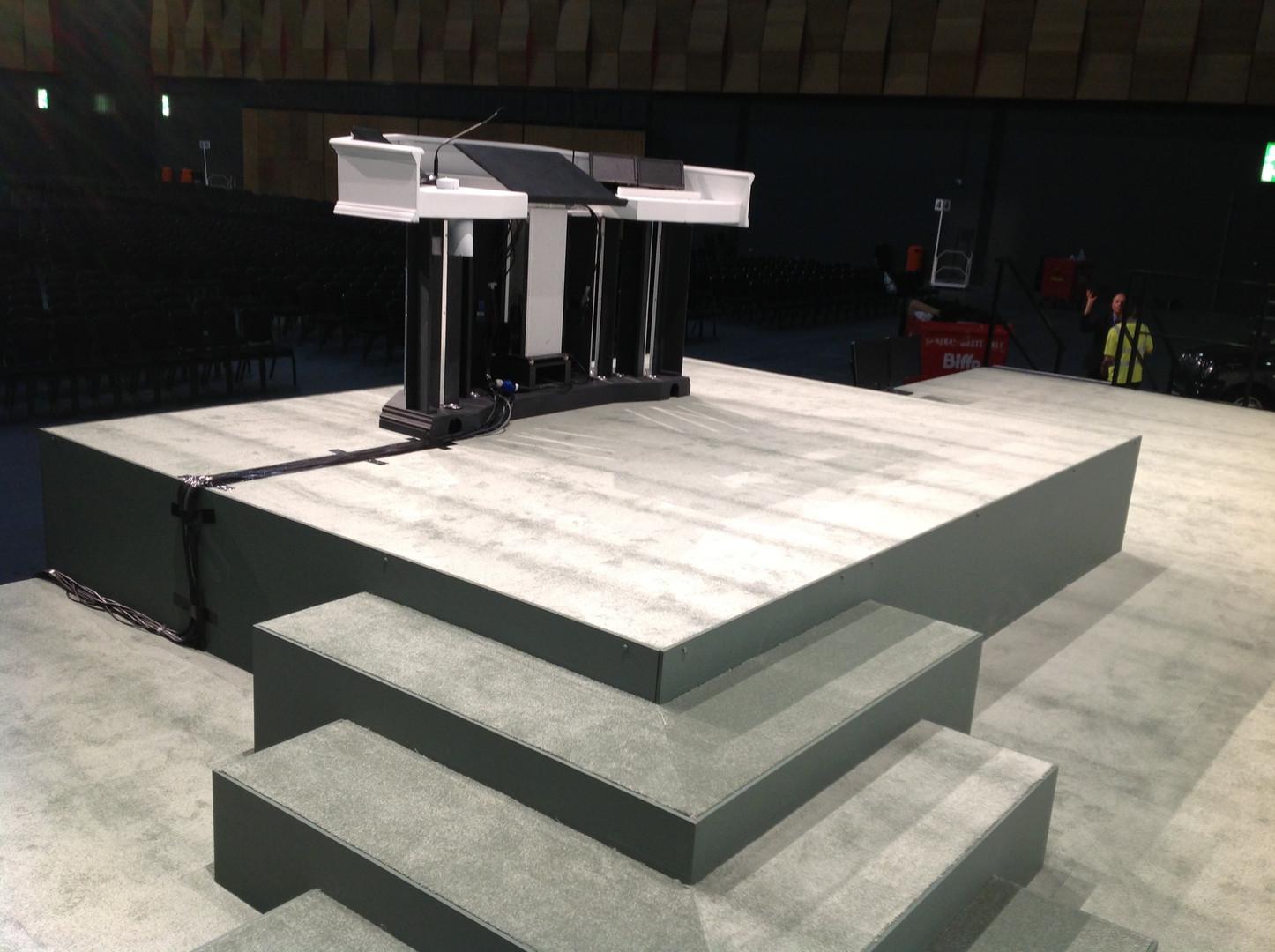 Podium Stage