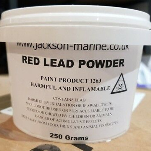 Red Lead Powder to make Red Lead Putty stopping Boat Seams